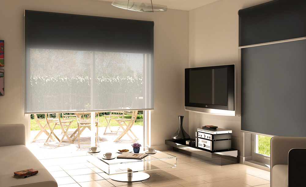 store enrouleur ou store rouleau storipro. Black Bedroom Furniture Sets. Home Design Ideas